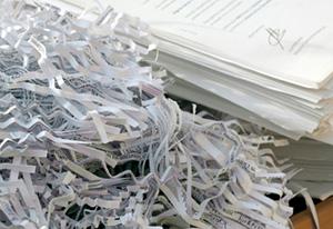 destruction d'archives confidentielles